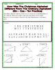 Right Triangles - Concepts Christmas Riddles Worksheets Bundle