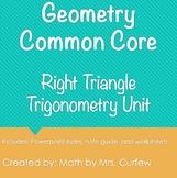 Geometry - Right Triangle Trigonometry