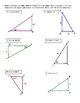 Geometry Right Triangle Trigonometry Riddle Activity