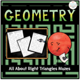 Geometry Right Triangles Mazes