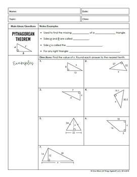 Right Triangles and Trigonometry (Geometry - Unit 8)