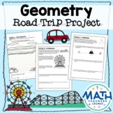 Geometry Road Trip - Project Based Learning PBL