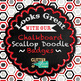 Black, White, Red Paper {Scrapbook Backgrounds for Task Cards & Brag Tags}
