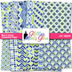 Oceana Geometry Paper {Scrapbook Backgrounds for Task Cards & Brag Tags}