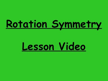 Geometry Rotation Symmetry Video