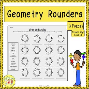 Geometry Rounders Puzzles