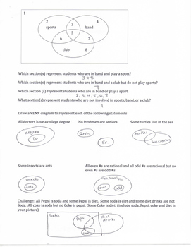 Geometry SOL Study Guide Standard G.1