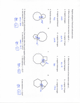 Geometry SOL Study Guide Standard G.10