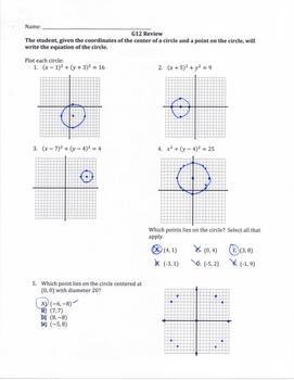 Geometry SOL Study Guide Standard G.12