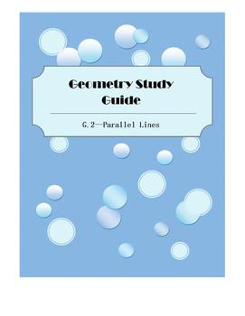 Geometry SOL Study Guide Standard G.2