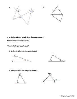 Geometry SOL Study Guide Standard G.5