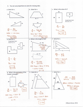 Geometry SOL Study Guide Standard G.7