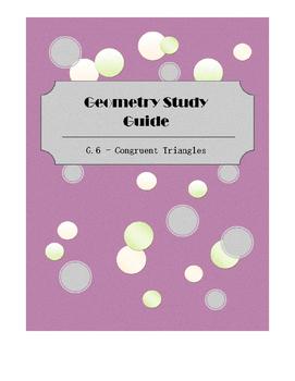 Geometry SOL Study Guide Standard G6