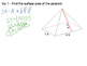 Geometry SS 12.3 - Surface Area of Pryamids and Cones