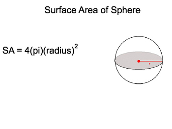 Geometry SS 12.6 - Surface Area and Volumes of Spheres