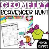Geometry Scavenger Hunt Task Cards