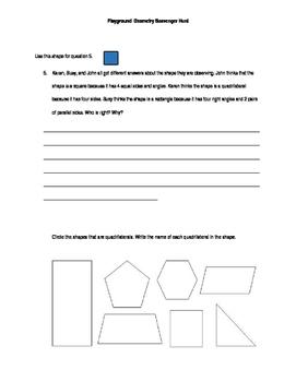 Geometry Scavenger Hunt