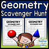Geometry Scavenger Hunt: A Fun Geometry Activity!