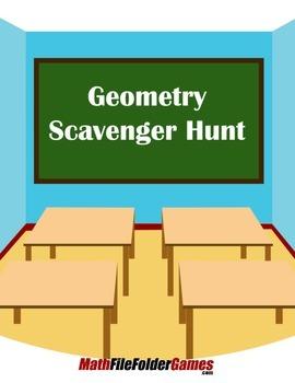 Geometry Scavenger Hunt {Geometry Activity}