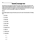 Geometry Scavenger Hunt - Glogster/PicCollage Assignment
