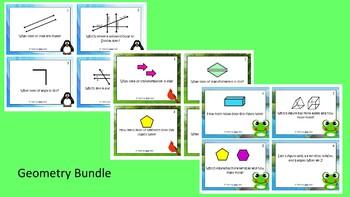 Geometry Scoot Activity/Task Card Bundle