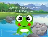 Geometry Scoot Activity/Task Cards (2D & 3D Figures)