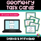 Geometry Scoot Game Task Cards