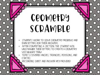 Geometry Scramble