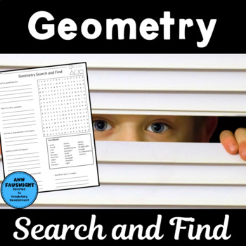 Geometry Search and Find