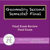 Geometry - Second Semester Final Exam