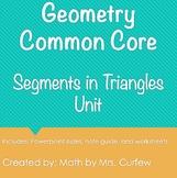 Geometry - Segments in Triangles