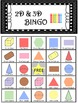 Geometry Shape 2D and 3D Bingo! 36x Sheets!!