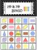 Geometry Shape 2D and 3D Bingo! 36x Sheets!!