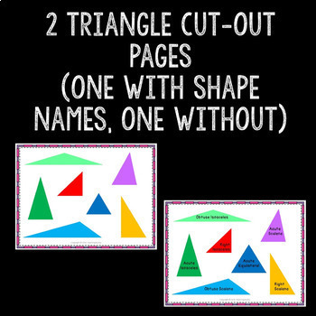 Geometry Shape Classification Attribute Sorting Math Center Common Core