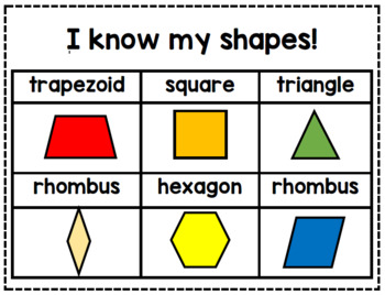 Geometry Shape Identification and Sorting Special Ed