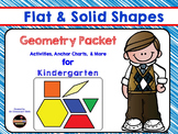 Geometry & Shape Pack for Kindergarten
