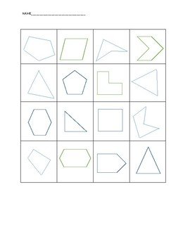 Geometry Shape Sort