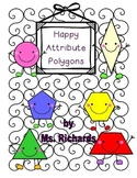Happy Quadrilateral Shapes (Attributes)