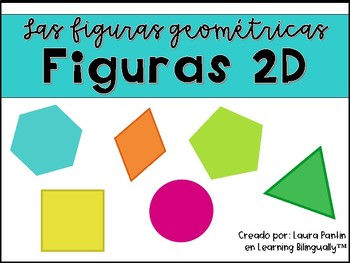 Geometry Shapes 2D in Spanish
