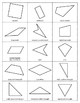 Geometry Shapes Attribute Game: GUESS IT! A Detective Game
