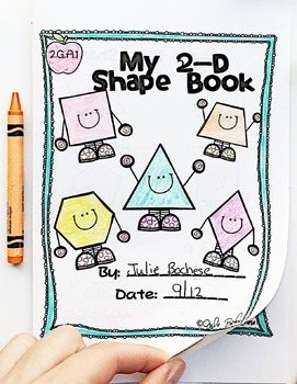 Geometry 2-D & 3-D Shapes 2nd Grade CC 2.GA.1