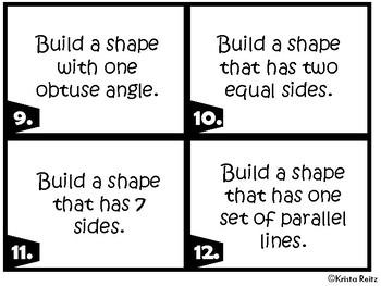 Geometry Shapes Freebie