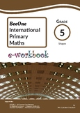 Grade 5 Shapes & Geometry workbook of 26 pages from BeeOne Books