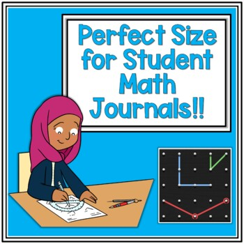 Geometry Shapes Journal Resource Freebie