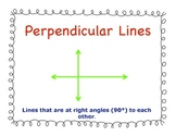 Geometry Shapes Posters With Definitions