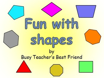 Geometry Shapes PowerPoint Presentation with Fun Animation