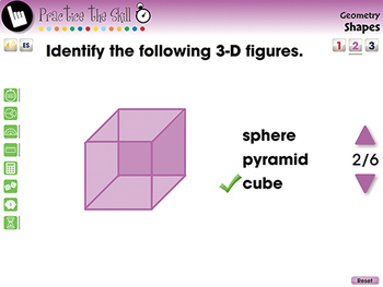 Geometry: Shapes - Practice the Skill 2 - MAC Gr. PK-2