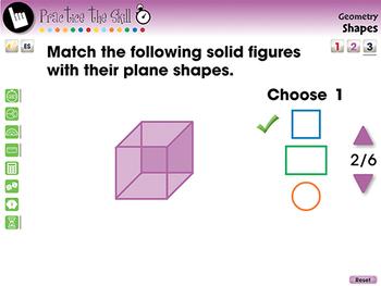 Geometry: Shapes - Practice the Skill 3 - MAC Gr. PK-2