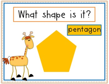 Geometry Shapes Review Flashcards PowerPoint