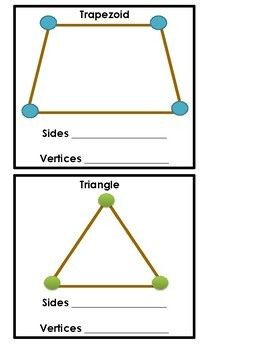 Geometry Creating Shapes (Vertices, Sides) with Play-Doh & Straws